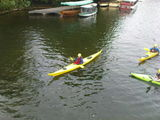 William in a sea kayak