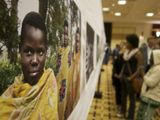 From the Through the Eyes of Children photojournalism exhibition in  KIgali