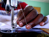 Sewing in Nyanza