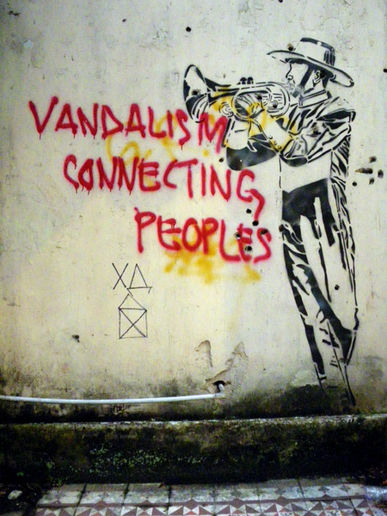 Vandalism Connecting Peoples