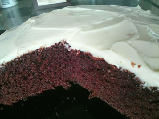 Chocolate Cake With Cream Cheese Frosting Chocolate Cake With Cream