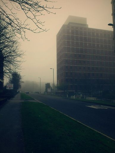 It's all a bit Silent Hill.