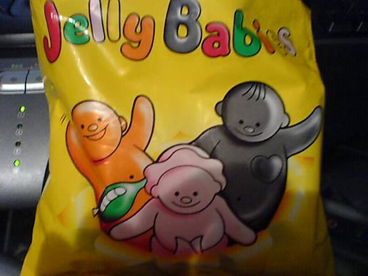 Jelly Babies for Emmy