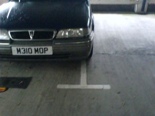 Parking between the lines...