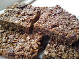 Bacon black treacle flapjacks