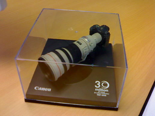Canon 1Ds Mark II with EF 600mm 1:4 L IS USM Lens