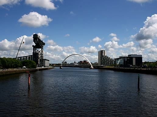 Glasgow from the Clyde