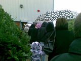Queue at the sorting office