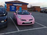 Why Why Why...Pink Micra