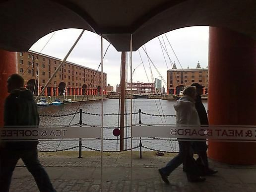 Wine in the Albert Dock