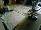 Drying maps