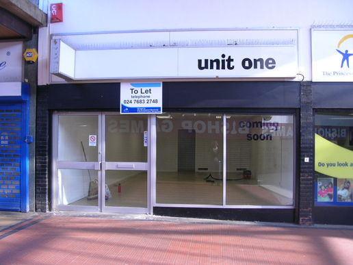 Unit One - Shared Showcase Space