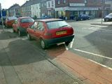 Dont' Park on the Zig-Zag Lines