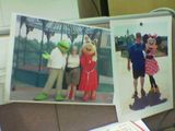 The pictures on my desk