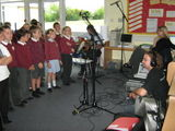Leven Singing Stars!  Year 3/4 recording Starry Starry Night!