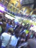 mobile clubbing at Liverpool St station...