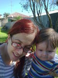Harry n Mum Outdoors