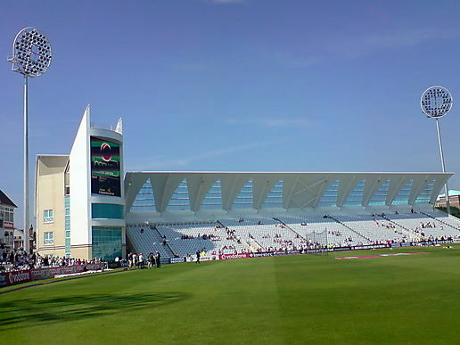An amazing day at the cricket.............