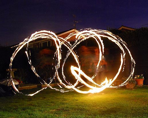 Fire diablo at the BBQ the other night, its amazing fun...........