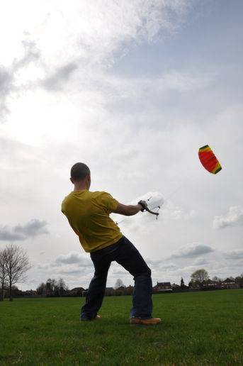 Sunday afternoon kite flying trip with *damage*