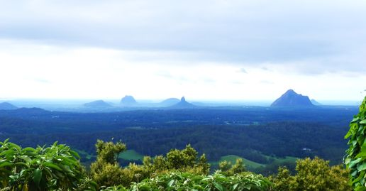 Glasshouse Mountains. Qld.