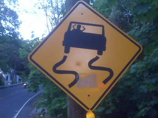 Slippery when AAAHH!!!