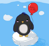 Birthday Penguin