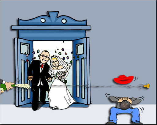 Squaring the circle .... or Kyoob gets wed ....