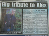 Article on Alex in the South London Press