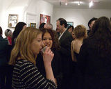 For Bronx Elf, Tim Roosen at the opening of the Strychin Gallery, London