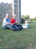 At Framlingham castle