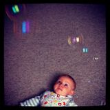 Baby and Bubbles