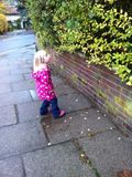 On the way home from nursery