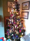 the finished tree