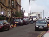 Taggart is being filmed on my street.