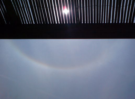 From moon to sun: circumzenithal