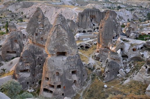 Fairy Chimneys rock formation in Cappadocia