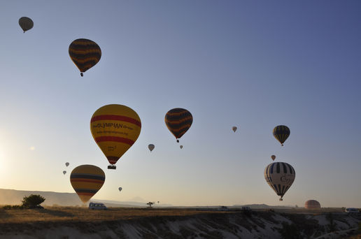 Flying over Cappadocia 2
