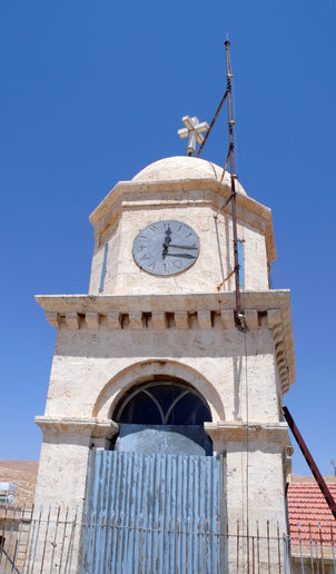 FOR ALFIE: a stopped clock in Syria
