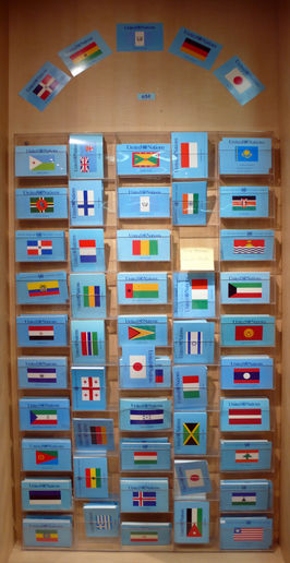 Postcards at the United Nations
