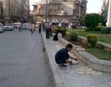 ALEPPO-bread sellers