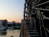 HAMA and the big water wheel
