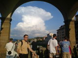 yesterday afternoon on Ponte Vecchio