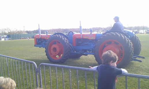 Big tractor fun outing