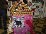A Level Gingerbread House