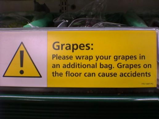Grape Warning
