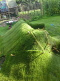 Lawn sofa, the turfing