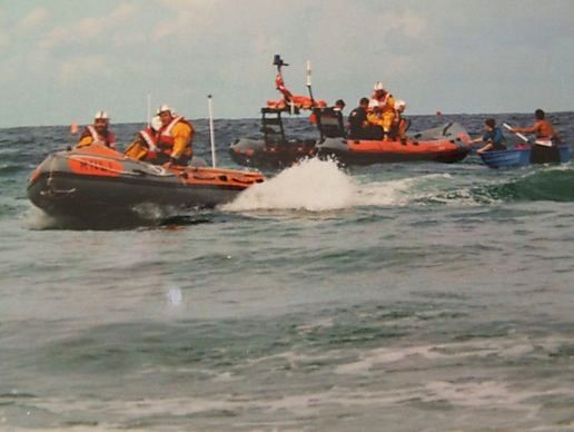 St Agnes Lifeboat Day 2001