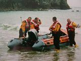 St Agnes RNLI me on the far right