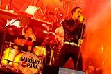 Maximo Park at Benicassim. photographs by Jacques Gilham